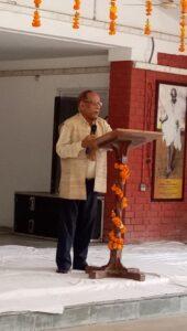 कार्यकारी कुलपति प्रो.पीसी जोशी